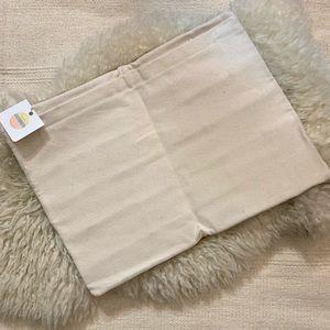 Vintage Bags - Vintage Re-Made Genuine Brown Calf Hair Zip Clutch